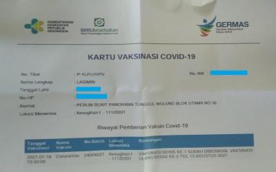 Dosen dan Karyawan UNUGHA Cilacap Laksanakan Vaksinasi COVID-19
