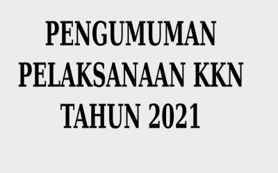 Pendaftaran KKN Tahun 2021