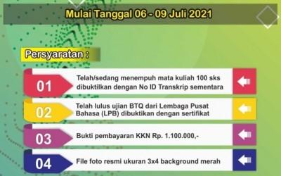 Dibuka Pendaftaran KKN 2021 Tahap II