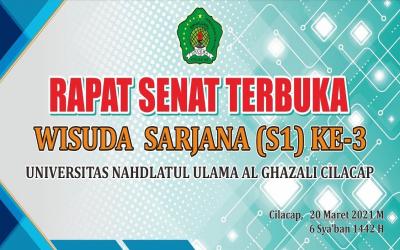 Wisuda Sarjana Ke-3 Unugha Al-Ghazali